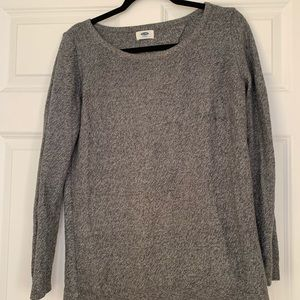 Open back old navy sweater